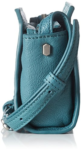 Berlin Hollywood Mini Structured Liebeskind Dye Leather Women's Double Moss Green Crossbody EqwwFd