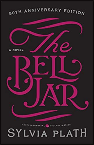 Image result for the bell jar book cover