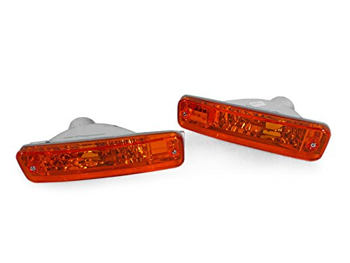 UPC 636676401461, DEPO 1988-1989 Honda CRX/CR-X Crystal Amber Front Bumper Signal Lights.