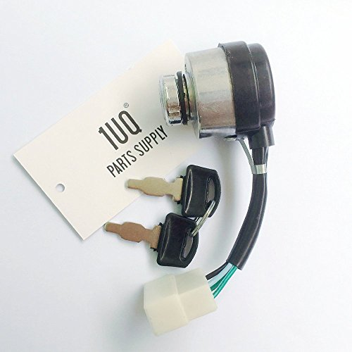 1UQ Electric Start Switch Ignition Key Switch For Buffalo Tools Sportsman GEN7000 GEN7013 GEN7500DF Generator by 1UQ