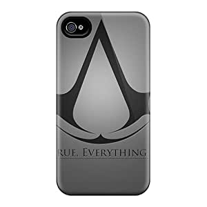 Iphone 6 HaP10162oyLQ Custom Nice Assassins Creed Image Scratch Protection Hard Phone Cases -JasonPelletier