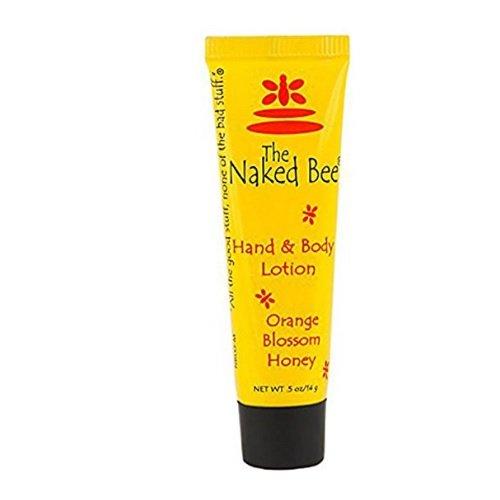 The Naked Bee Orange Blossom Honey Hand And Body Lotion, 0.5 (Bee Moisturizing Orange Blossom Honey)