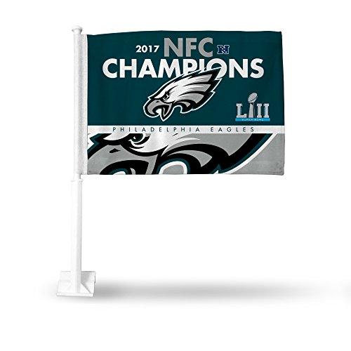 Rico Industries NFL Philadelphia Eagles 2017 NFC Champions Car Flag
