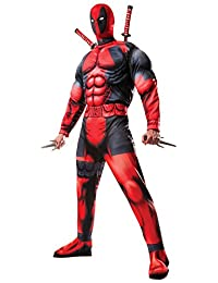 Rubies Costume Men's Marvel Universe Classic Muscle Chest Deadpool Costume