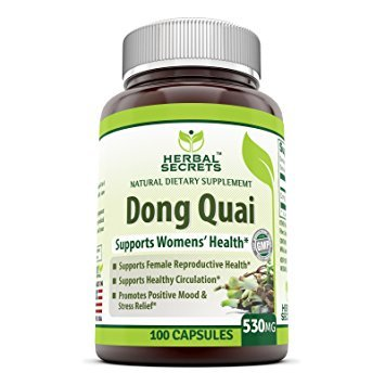 Herbal Secrets Dong Quai 530 Mg 100 Capsules Review