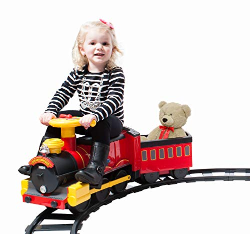 Rollplay Steam Train 6-Volt Battery- Powered Ride-On