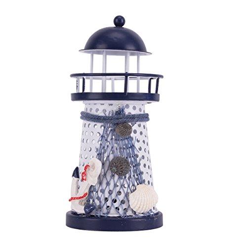 Home Decor Children Room Nautical Style Lighthouse Night Lig