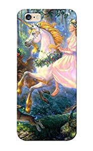 Cute High Quality Iphone 6 Plus Fairy On A Unicorn Case Provided By VenusLove