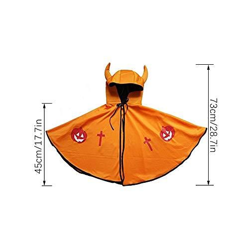 GZQ Capa del Cabo para niños, niños, Disfraces de Demonios de ...
