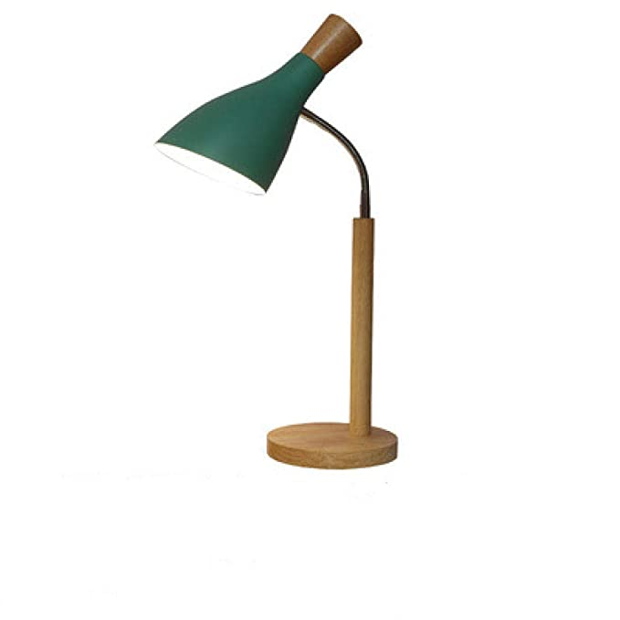 Lámpara de Mesa Luz Nocturna Luz de escritorio de lectura curva, B ...
