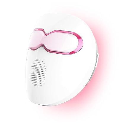 JIAO Terapia de luz Máscara para el acné Infrarrojo lejano Máscara Facial Belleza SPA Fototerapia para