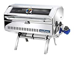 Magma's completely redesigned Newport 2 Infrared Gourmet Series Gas Grill; a perfect addition for that perfect day on the water. This finely crafted grill is perfect for grilling burgers, steaks, chicken breasts, or fish. New features include...
