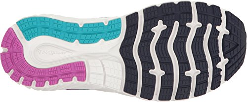 Brooks Women's Glycerin 15 Evening Blue/Purple Cactus Flower/Teal Victory 8.5 D US by Brooks (Image #2)