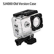 Original SJCAM SJ4000 Accessories Underwater Housing Waterproof Case Diving 30M for SJ4000 Series/SJ7000/SJ8000/SJ9000 Action Camera(Model A)