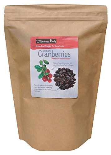 Wilderness Poets Oregon Cranberries (Sweetened with Apples) - Bulk Dried Cranberries,10 lb (160 oz)