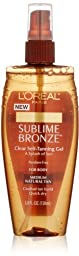 L\'oreal Paris Sublime Bronze Clear Self-tanning Gel, 5.0 Ounce (Pack of 3)