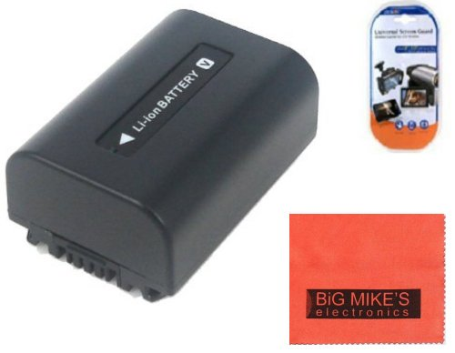 BM Premium NP-FV50 Battery for Sony DCR-SX45 DCR-SX65 DCR-SX83 DCR-SX85 HDR-CX105 HDR-CX110 HDR-CX115 HDR-CX130 HDR-CX150 HDR-CX155 HDR-CX160 HDR-CX300 HDR-CX305 HDR-CX350V HDR-CX360 HDR-CX520V HDR-CX