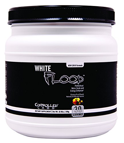 White Flood PreWorkout Net Wt. (0.9lbs) 399g, 30 Servings