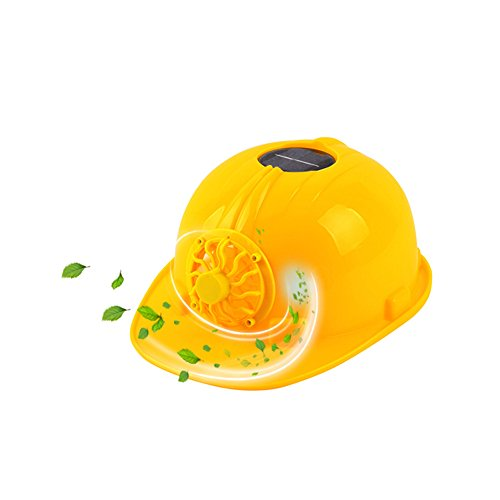 HYFAN Hard Hats Yellow Safety Helmet Ventilated Breathable Hard Cap...