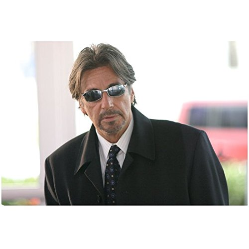 Two for the Money (2005) 8 inch x10 Inch Al Pacino Wearing Sunglasses & Overcoat - Sunglasses Actors Wearing