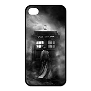 Doctor Who RUBBER SILICONE Case for iPhone 4, iPhone 4S,Tardis,Dr Who RUBBER iPhone Case-AZA