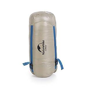 Naturehike Down Sleeping Bag Lightweight 800 Fill Power Goose Down Sleeping Bag for Camping, Hiking, Backpacking(Khaki)