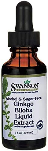 Swanson Ginkgo Extract Alcohol Sugar Free product image