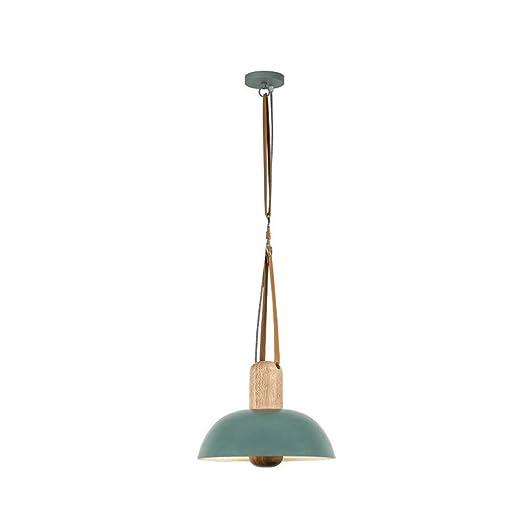 UOOGOU Lámpara de Techo Decorativa de Madera LED Protect ...