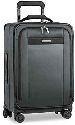 Briggs Riley Transcend Tall Carry-on Expandable 22 Spinner, Slate