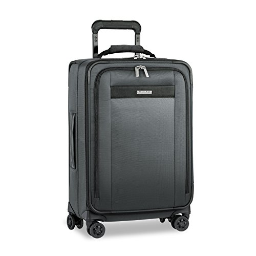 Price comparison product image Briggs & Riley Transcend Tall Carry-on Expandable Spinner, Slate