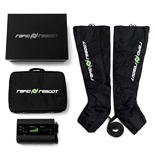 Rapid Reboot Recovery System: Compression Boots, Pump, and Case. Sequential, Dynamic air Compression for Massage Therapy, Improved Circulation and Faster Recovery for Every Athlete