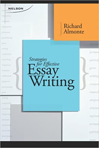 read think write strategies for essay writing richard almonte 9780176501228 creative writing composition amazon canada - Strategies For Essay Writing