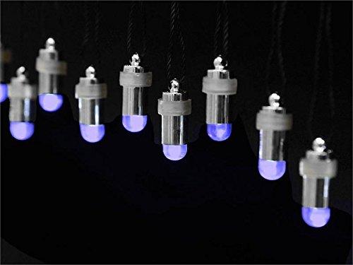 Efavormart 12pcs Purple Bullet LED Floralyte Vase Lights Wedding/Party/Floral Decoration Tea Vase Battery Light Candles