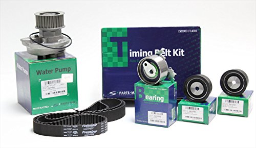 Timing Belt Kit for Chevy Chevorlet Optra Limited-suzuki Reno-forenza (Belt Gates/tensioner Pmc/pulley Pmc) - Parts-mall (Includes: 1 Water Pump Parts-mall - Reno Malls