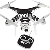 Skin For DJI Phantom 3 Standard – Genius | MightySkins Protective, Durable, and Unique Vinyl Decal wrap cover | Easy To Apply, Remove, and Change Styles | Made in the USA