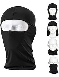 Balaclava Ski Mask – Small - Black, 2-Pack