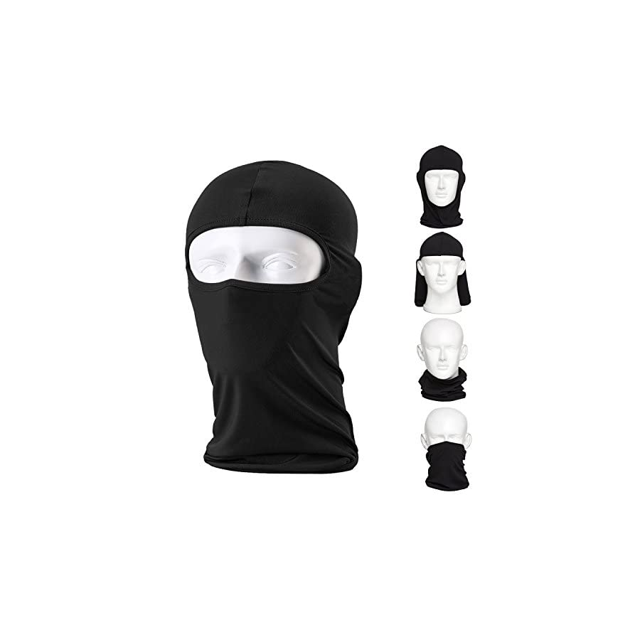 CAILEK Balaclava Ski Mask – Small Black, 2 Pack