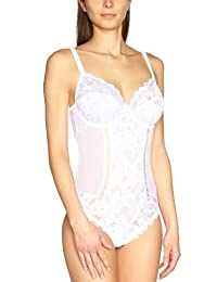 Sans Complexe Womens Arum Lace Bodyshaper By White Size Us 38D Fr 100D