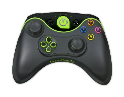Green Throttle Atlas HID Single Controller Includes a Wireless Bluetooth Controller for Android Games on Smartphones and - Single Atlas