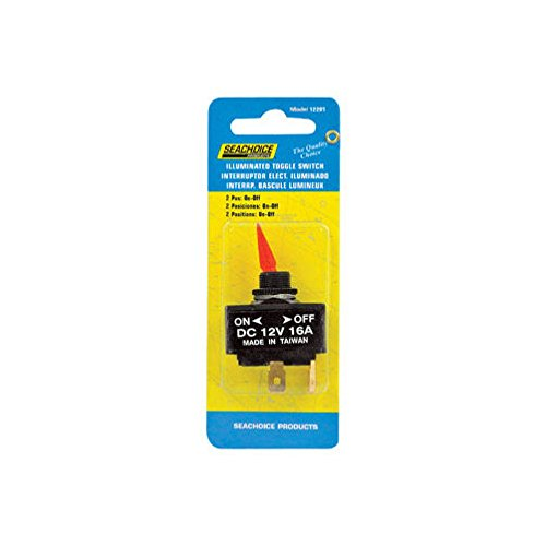 Seachoice Lighted Toggle Switch 12 V On/Off ()