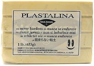 Brown Plastalina Modeling Clay 1 lb Bar