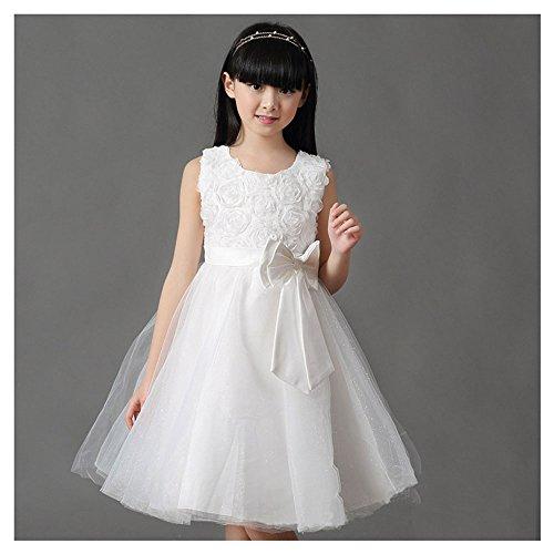 [KAKA(TM) Lovely Girls One Piece Dress Flower Girl Dresses White Dress skirt Princess Skirt Tutu Skirt Party Costume Dress With] (Ipod Costume)