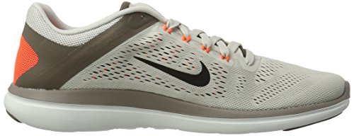 Nike Mens Flex 2016 RN Running Shoe Light Bone/Dark Mushroom/Hyper Orange/Black 8.5 D(M) US by NIKE (Image #6)