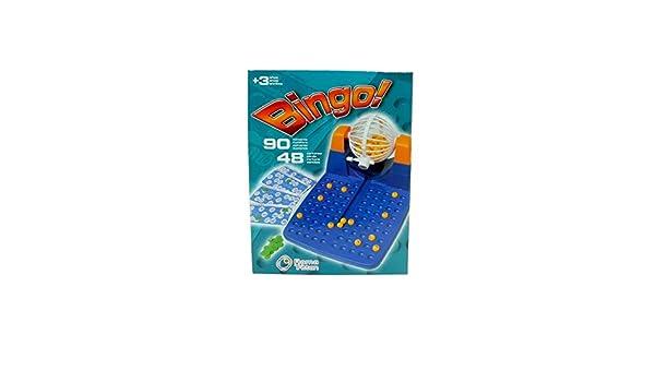 Cladellas - Cladellas - Bingo grande en caja 90 bolas  Amazon.es  Juguetes  y juegos 891426c4103e2