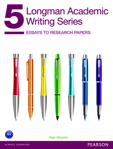 - Longman Academic Writing Series 5: Essays to Research Papers