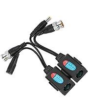 Goede Prestaties ABS Plastic LED Indicator Video Balun Zendontvanger, Zender voor MINI Schijfspeler DVD Speler Video CD Speler