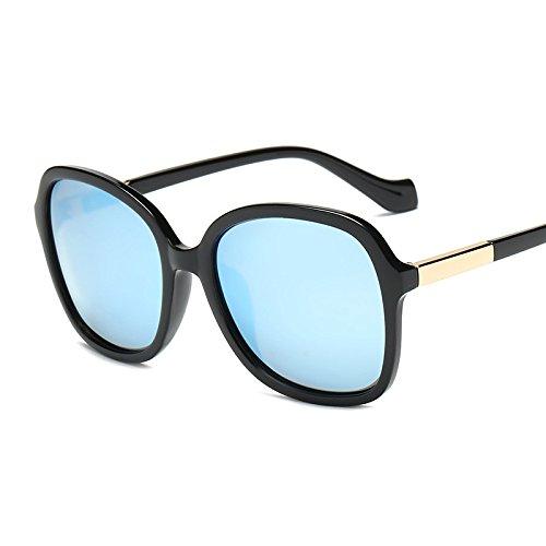 Personalidad Sra Street Viaje Gafas Retro B Sol Polarizada A De Playa Beat Sol Luz Gafas Grande De Moda Conducir Simple Caja Visera TTrwqzB6
