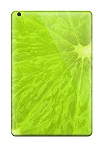 Durable Protector Case Cover With Fresh Green Lime Slice Hot Design For Ipad Mini/mini 2