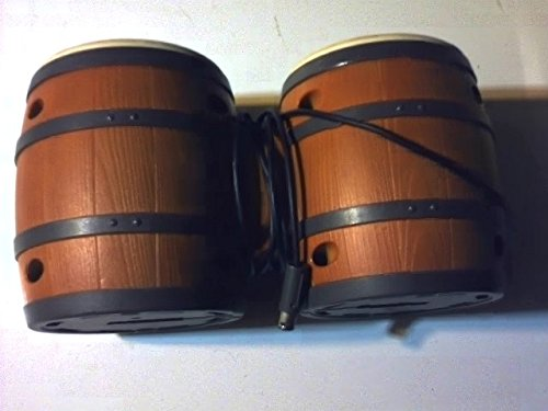 Donkey Kong Drum (Electronic Bongo Drums for Gamebube Video Game Ssytem---works on the Video Games of Donkey Konga 1 & Donkey Konga 2 and Donkey Kong Jungle Beat Video Games (Electronic Donkey Kong Drums for Gamecube))