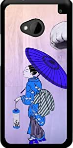 Funda para Htc One M7 - Estilo Geisha by WonderfulDreamPicture